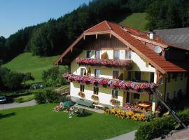Gesundheitshof Lohninger, farm stay in Mondsee
