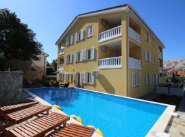 Apartments Gorica 1, self catering accommodation in Baška