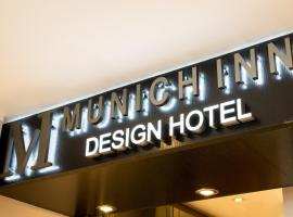 Hotel Munich Inn - Design Hotel, hotel in Munich