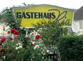 Gästehaus Pension Ria, Hotel in Pörtschach am Wörthersee