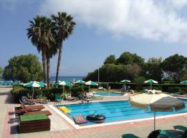 Pylea Beach Hotel, hotel in zona Aeroporto Internazionale di Rodi - Diagoras - RHO, Ialyssos