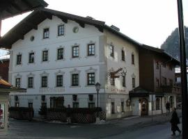 Hotel Garni Bernhard am See, Hotel in Walchsee
