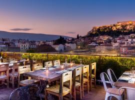 360 Degrees, hotel in Monastiraki, Athens