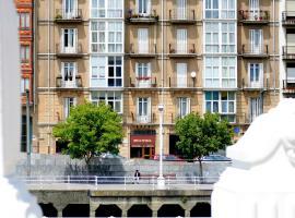 Hotel Ripa, hotel cerca de Catedral de Santiago, Bilbao