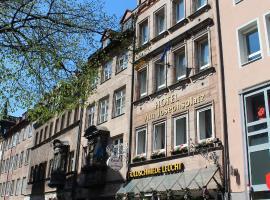 Hotel Am Josephsplatz, hotel v Norimberku