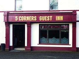 5 Corners Guest Inn, hotel in Ballyclare