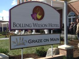 The Bolling Wilson Hotel, Ascend Hotel Collection, hotel in Wytheville