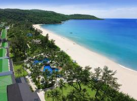 Katathani Phuket Beach Resort, family hotel in Kata Beach