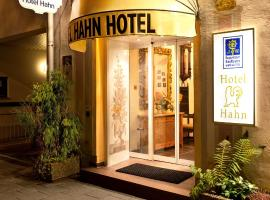 Hotel Hahn, hotel near Nymphenburg Palace, Munich