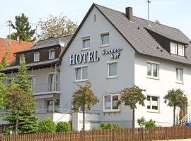 Hotel Sonnenhof, отель в Зиндельфингене