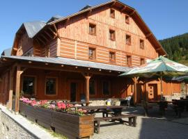 Horsky hotel Stumpovka, hotel near Kamienczyka Waterfall, Rokytnice nad Jizerou