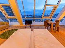 Getreidemarkt 10 Serviced Apartments - contactless check-in, sewaan penginapan di Vienna