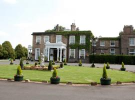 Ringwood Hall Hotel & Spa, hotel in Chesterfield