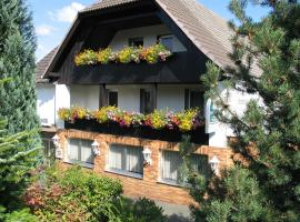 Hotel Restaurant Gunsetal, hotel en Bad Berleburg