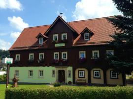 Pension Immergrün, Hotel in Kurort Jonsdorf