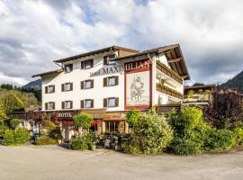 Hotel Maximilian, Hotel in der Nähe von: Burgenwelt Ehrenberg, Reutte