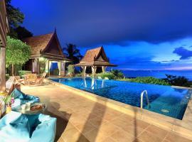 Villa Thai Teak - Panoramic Sea & Sunset Views, hotel in Nathon