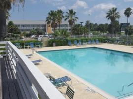 Inn at the Waterpark, hotel en Galveston