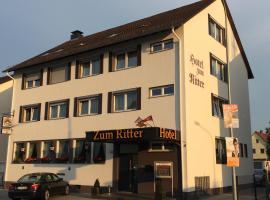 Hotel Zum Ritter, hotel in Seligenstadt