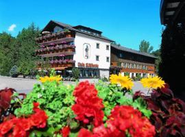 Hotel Hirsch mit Café Klösterle, отель в городе Энцклёстерле