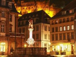 Hotel Goldener Falke, hotel in Heidelberg