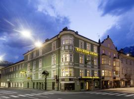 Hotel Goldene Krone Innsbruck, haustierfreundliches Hotel in Innsbruck