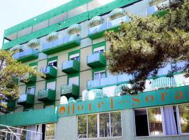 Hotel Soraya, hotel v Lignanu Sabbiadoru