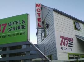 747 Motel & Car Hire, motel in Wellington
