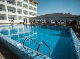 Villa Santorini, hotel in Zatoka