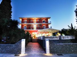 Πυρρος, ξενοδοχείο στο Κοντόκαλι