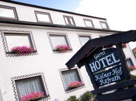 Hotel Kölner Hof Refrath, Hotel in Bergisch Gladbach