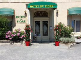 Citotel Hotel du Tigre、ヴェルダン・シュル・ムーズのホテル
