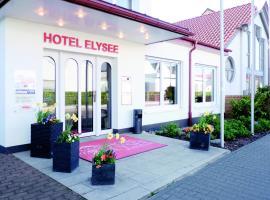 Hotel Elysee, hotel in Seligenstadt