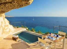 Cap Rocat, a Small Luxury Hotel of the World, hotel near Aqualand El Arenal, Cala Blava