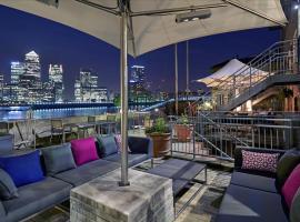 DoubleTree by Hilton London – Docklands Riverside, hotel v oblasti Southwark, Londýn