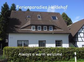 Farm Stay Heidehof, hotel near Udenbreth Schlepplift, Hellenthal