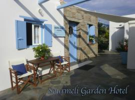 Sourmeli Garden Hotel, hotel in zona Aeroporto di Mykonos - JMK, Città di Mykonos