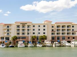 Courtyard by Marriott St. Petersburg Clearwater/Madeira Beach, hotel near Clearwater Marine Company, St Pete Beach