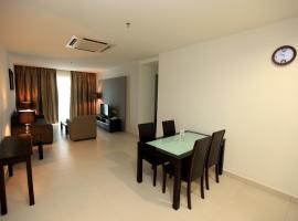 Merdeka Suites Hotel, apartment in Miri