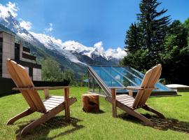 Chalet Hôtel Le Prieuré, hotell i Chamonix-Mont-Blanc