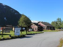 Skysstasjonen Cottages, hotell i Røldal