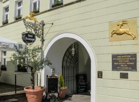 Akzent Hotel Goldner Hirsch, Hotel in der Nähe von: Barockschloss Rammenau, Kamenz