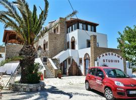 Panorama Studios, pet-friendly hotel in Kefalos