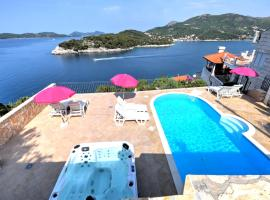 Paradis Apartments, hotel with pools in Dubrovnik