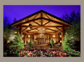 The Lodge at Jackson Hole, romantic hotel in Jackson