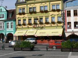 Hotel Labuť, hotel ve Vrchlabí