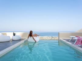 Skyfall Suites - Adults Only, hotel in Pirgos