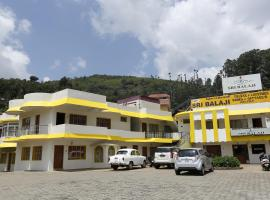 Hotel Sri Balaji, hotel v destinaci Ooty