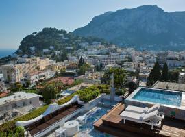 Capri Tiberio Palace, hotel en Capri