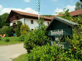 Ferienhof am Mitterberg, Hotel in Bad Birnbach